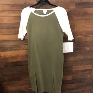 Lularoe mid length cotton dress
